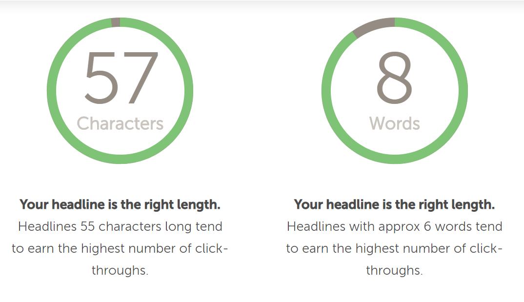 headline analyzer tool for writing great blog headlines
